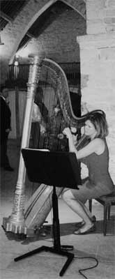 Emma Whitaker Experienced Harpist