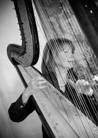Sally Whitaker Experienced Harpist